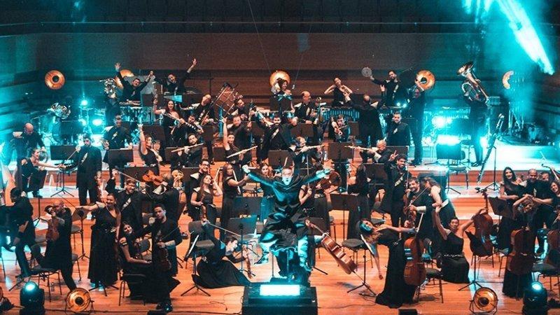 Foto de la Film Symphony Orchestra en directo