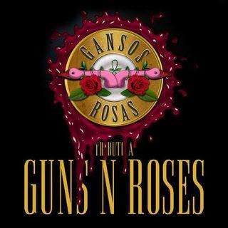 Gansos Rosas en directo, el mejor tributo a Guns n'Roses