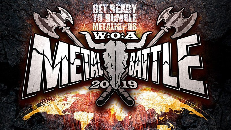 Imagen promocional de la WOA Metal Battle 2019