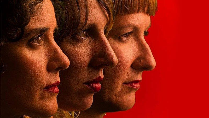 Foto promocional de las 3 integrantes de Trivilorio