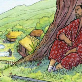 Ilustración de portada del comic La hierba del estío