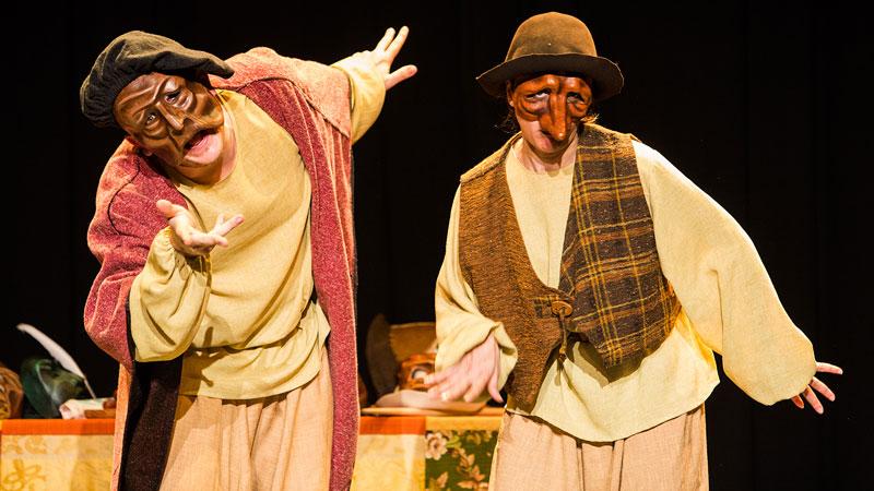 El Baúl de los Bufones, obra de Teatro Strappato