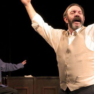 Semblanza Mauricio Kartún y Cumbia Morena Cumbia, obra de teatro