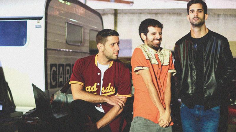 Integrantes del grupo madrileño Los Cheddars