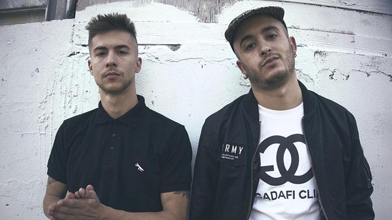El dúo de rap madrileño Natos y Waor