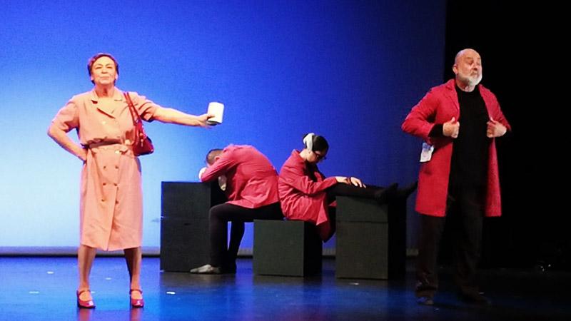 Por Narices, obra de teatro