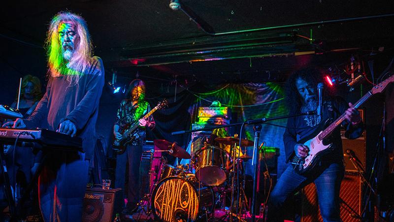 La banda japonesa Acid Mothers Temple en directo
