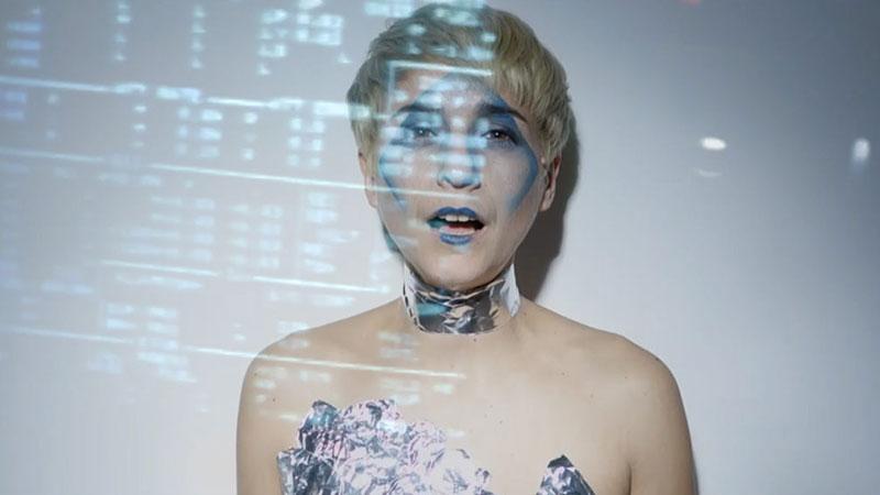Fotograma de el último videoclip de Anatomia Humana Desmontable