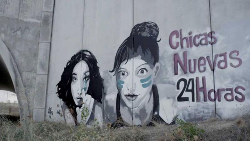 Fotograma del documental Chicas Nuevas 24 Horas