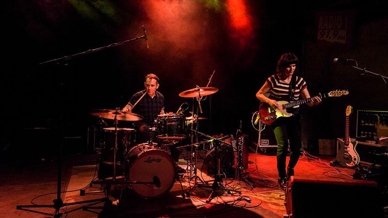 La banda Songs from Utopia en directo