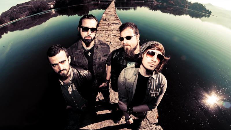 Foto promocional de la banda Stoned at Pompeii