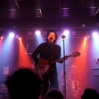 Foto de la banda mallorquina L.A. en directo (por Miriam Calero)