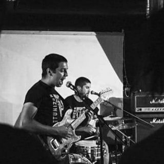 Foto de la banda Lamprea Explosiva en directo
