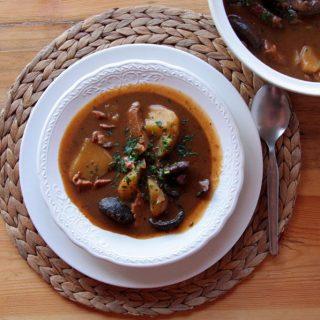 Foto de presentación del Ragú de seitán de Nahual Cocina