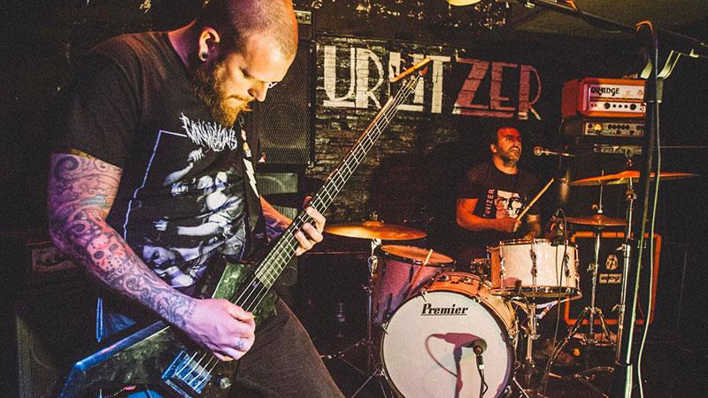 Foto de la banda VOR en directo