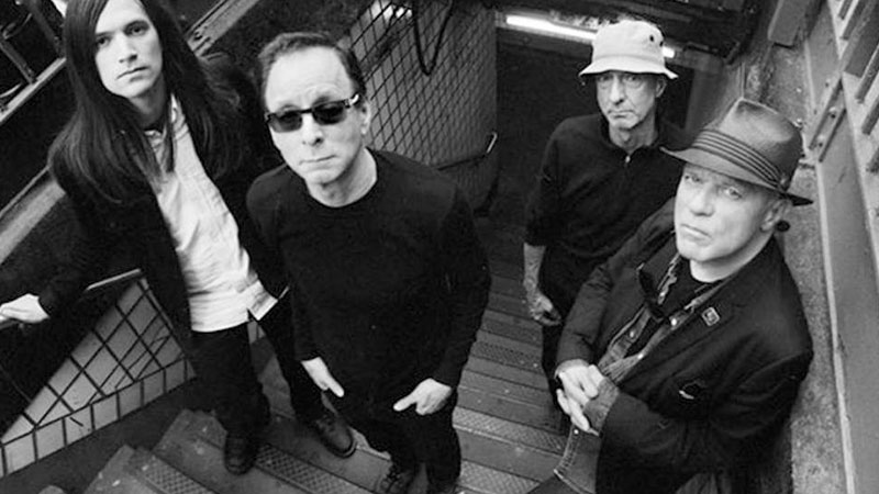 Foto de los miembros de la banda británica Wire