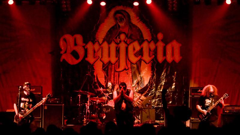 Foto de la banda Brujería en directo