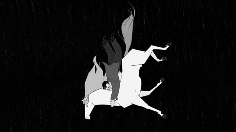 Fotograma del cortometraje El Diañu