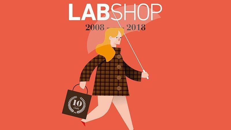 Imagen gráfica de la décima edición de LABshop