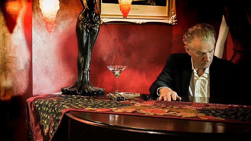 Foto del músico autraliano Mick Harvey