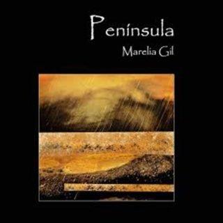 Portada de Península, poemario de Mariela Gil