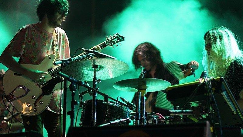 Foto de la banda madrileña Rufus T. Firefly en directo