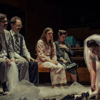 Foto de una escena de la obra teatral Todo el tiempo del mundo