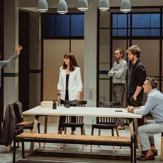 Foto de una escena de la obra de teatro 7 años