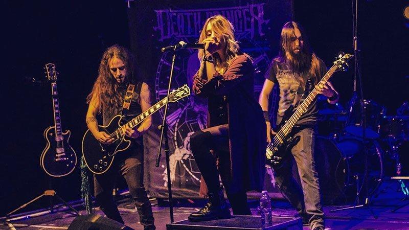 Foto de la banda leonesa Death Bringer en directo