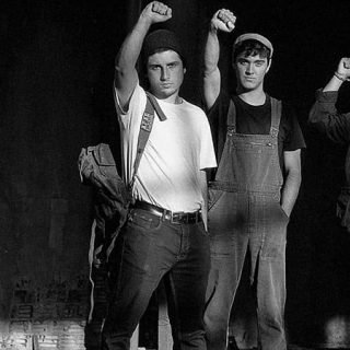 Foto de los 3 miembros de la banda de rap Ezetaerre