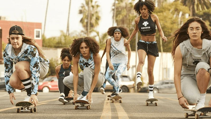 Fotograma de la película Skate Kitchen