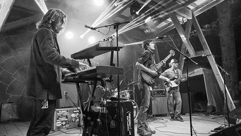 Foto de la banda norteamericanda Travers Brothership en directo