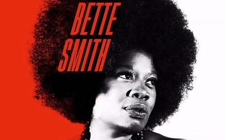 Imagen promocional de Bette Smith para uno de sus conciertos en Brooklyn