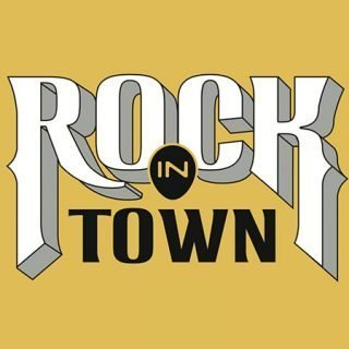 Imagen gráfica del festival Rock in Town de Avilés