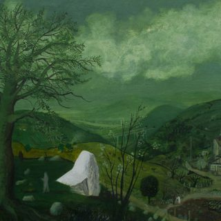 """El cuadro """"Grases, meditaciones de pintor"""" de Alberto Amez"""