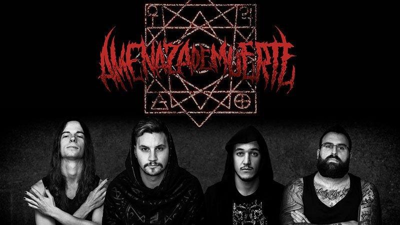 Foto promocional de la banda Amenaza de Muerte