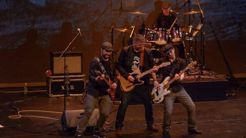 Foto de Bacotexo tocando en directo