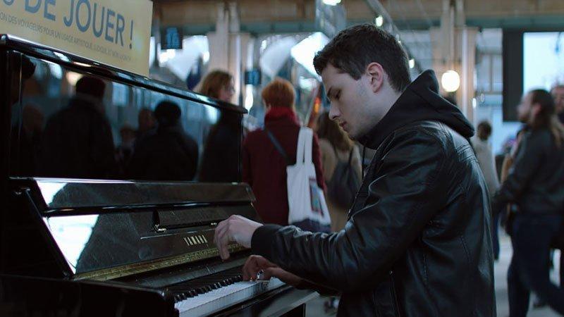 Fotograma de la película La clase de piano