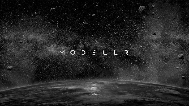 Imagen promocional del universo visual de Mod3llr