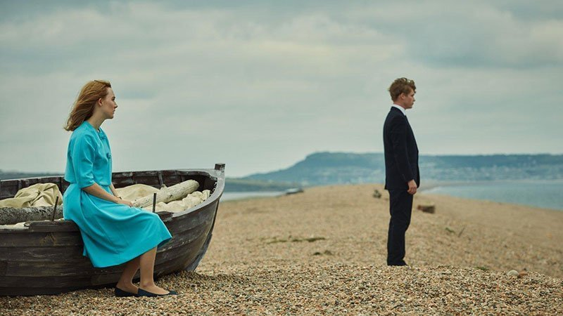 Fotograma de la película On Chesil Beach