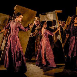 Imagen de una escena de Rey Lear