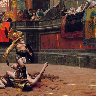 Imagen conceptual que representa al imperio romano
