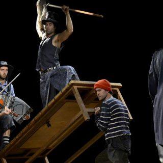 Escena de la obra Moby Dick