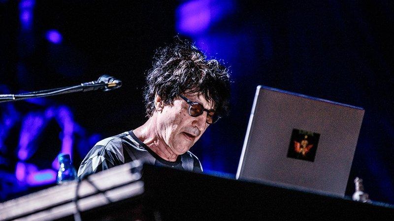 Foto de Bernard Fèvre en directo en el festival Rec Beat 2018