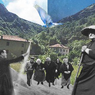 Detalle del cartel de Una Señora Fiesta 2019