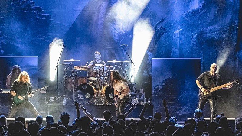 Foto de Rhapsody of Fire tocando en directo