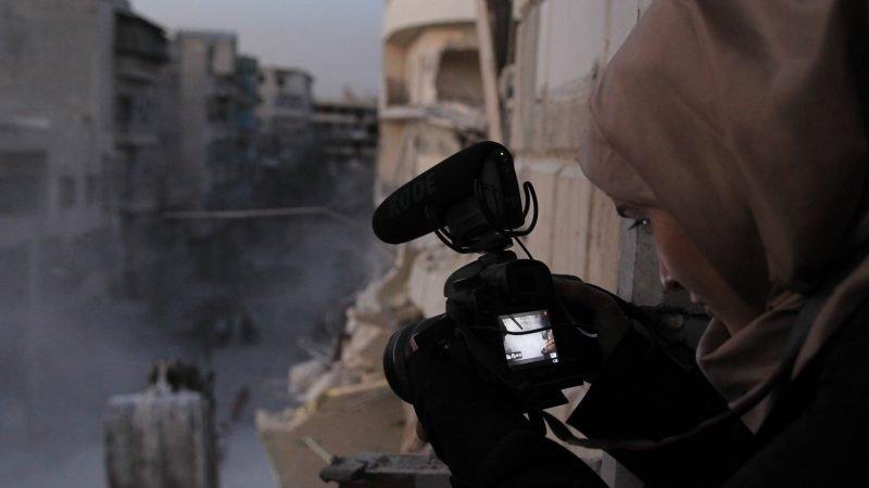 Fotograma de la película Para Sama, un documental sobre los atentados en Alepo